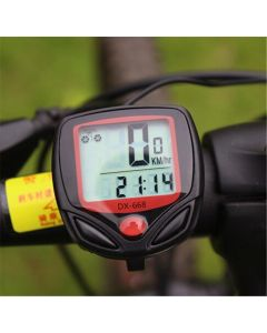 15 Función Computadora De Bicicleta Dx -668 Computadora Speedómetro Odómetro Bicicleta Cronómetro