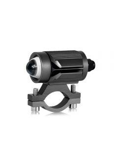 Tri-modèle Moto LED Phare avec Mini Projecteur Lentille Voiture ATV Conduite Antibrouillard Projecteur Auxiliaire