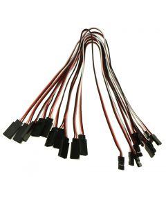 Control Remoto De 300 Mm 3-Pin A Mujer Server Servidos Servidos Conexión Cables De Extensión Cables