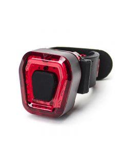 Kit de luz trasera para bicicleta Portátil, ligero, ajustable, con carga USB, luz de seguridad impermeable IPX4