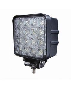 48W 12V 16Pcs * 3W Led Lámpara De Luz Lámpara De Luz Impermeable Ip67 Inundación O Spot Beam Jeep Atv Offroad Led Luz De Trabajo