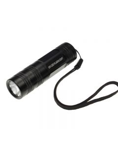 New 802C-UV UV-395~410nm 1-Mode LED UV Flashlight Torch(1*CR123A/1*16430 battery)