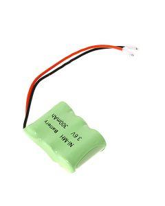 1/2 3A 300Mah 3.6V Ni-Mh Batería Recargable (Paquete De 3)