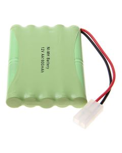 Ni-Mh Aa 12V 1800Mah Big White Battery Pack-10 Pcs Un Paquete