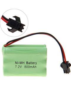 Ni-Mh 3A 7.2V 800Mah Paquete De Batería Sm-6 Pcs Un Paquete