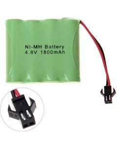 Ni-Mh Aa Aa 4.8V 1800Mah Paquete De Batería Sm-4 Pcs Un Paquete