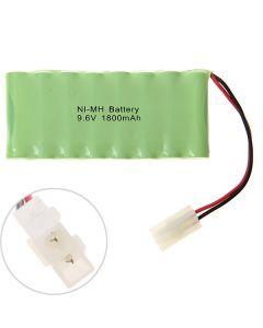 Ni-Mh Aa 9.6V 1800Mah Battery Pack-8 Pcs Una Fila