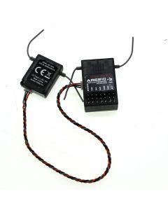 Ar6210 2.4Ghz 6 Canales Dsm-X Receptor R / C Helicópteros / Areoplanes Para Spektrum