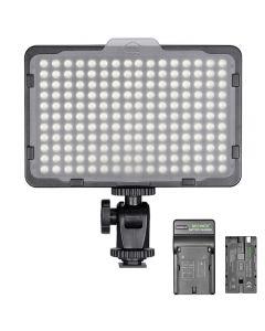 Neewer Photo Studio 176 LED 5600K Regulable ultra brillante para Canon Nikon Sony y otras DSLR