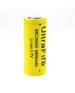 Ultrafire Brc 26650 3.7V 6800Mah Batería Recargable Sin Protección De Li-Ion