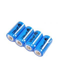 Ultrafire Lc 16340 880Mah 3.7V Batería Recargable De Iones De Litio (Paquete De 4)