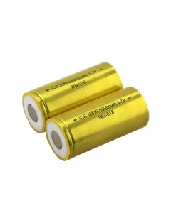 Irc 32650 6000Mah 3.7V Batería De Ión De Litio (Paquete De 2)