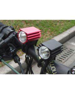 Luces De Bicicleta Individuales L2 / Cree Xm-L2 4 Mode Max 1200 Lumen Led Faro Para Bicicletas (Solo Tapa De La Lámpara)