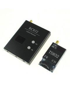 48Channel 5.8G 600Mw Av Wireless Av Transmisor Ts832 + Rc832 Radio De Av Inalámbrico