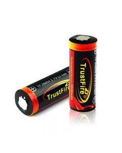 Trustfire Tf 26650 3.7V 5000Mah Batería Recargable Protegida De Li-Ion (Paquete De 1 Paquete)