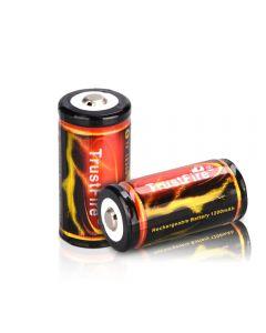Trust Fire 18350 3.7V 1200Mah Batería Recargable De Litio De Litio (2Pcs)