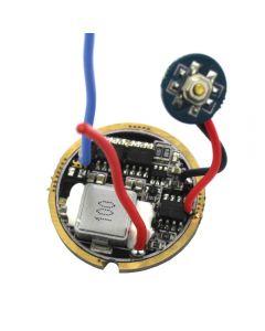 6 ~ 13V 5A 5 Modos Three Lithium High Performance Led Flashlight Tablero De Circuitos Para Xhp50, Mtg2, Xhp70