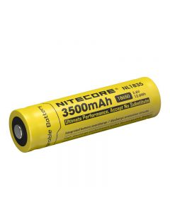 Nitecore Nl1835 3.6V 3500Mah 18650 Batería De Iones De Litio Protegida Con Batería (1Pc)