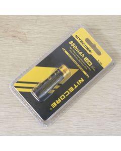 Nitecore Nl1485 850Mah 14500 3.7V 3.1Wh Batería Recargable De Iones De Litio Para Dispositivos De Alto Drenaje