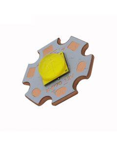 5000K De Alta Potencia Cree Xhp70.2 Emisor De Led Blanco Neutro Con 20 Mm 6V / 12V Dtp Copper Mcpcb (1 Pc)