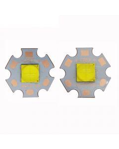 Emisor De Alta Potencia Xhp70.2 White 6500K Led Con 20 Mm Dtp Copper Mcpcb (1 Pc)