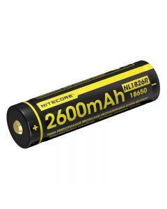 Nitecore Nl1826R 3.6V 18650 Batería De Ión Litio Recargable Micro-Usb De Alta Batería