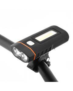 Dos Luces Bicicleta Faro Bicicleta Led Lámpara Cree Xm-L2 U2 Y Cob Front Light 1000-Lumens 18650 Batería Recargable