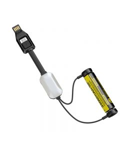 Nitecore Lc10 Cargador Usb Al Aire Libre Magnético Portátil De Nitecore Para El Cilindro Recargable Batería 1A Max Dc 5V Con La Luz Del Sensor