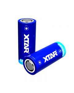 Xtar 26650 3.7V 5200Mah 18.72Wh Recargable Li-Ion Battery-1 Pc