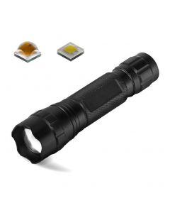 Ultrafire Wf-501B.2 Cree Xp-L Led 1200 Lumens Zoomable Ajustable Focus Led Linterna