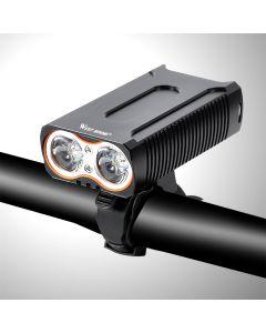 Lámpara Delantera Luces De Bicicleta A Prueba De Agua Max 2400Lm Usb Carga 2 T6 Led Ciclismo Faro