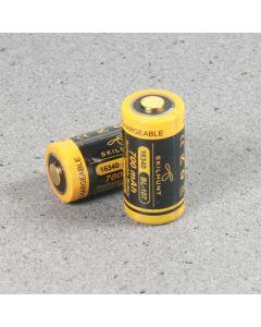 Skilhunt 16340 700Mah 3.6V Batería Protegida Bl-107 3.6V (1Pc)