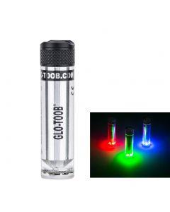 Glo-Toob Gt-Aaa Aurora Rgb 3 Color Light 7 Modos Sin Descripto 200M Advertencia De Advertencia Buceo Lámpara De Linterna Externa