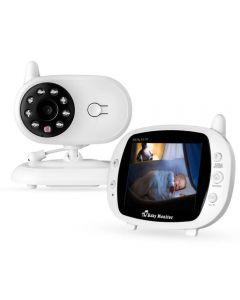 """Monitor De Bebé 3.5 """"Wireless Sp850 Baby Sleeping Music Monitor Monitor De Radio Bidireccional Visión Nocturna Visión Nocturna Cámara De Monitor De Temperatura Portátil"""