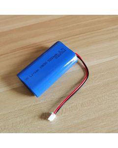 3.7V 5200Mah 2X18650 Batería De Litio Para La Pesca Led Luz Bluetooth Speaker-Xh 2.54Mm-2P Conector