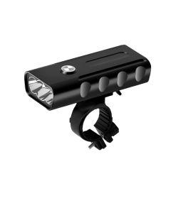 2400 lúmenes 3 luz LED para bicicleta L2 / T6 linterna USB recargable 360 grados de rotación Luz para bicicleta
