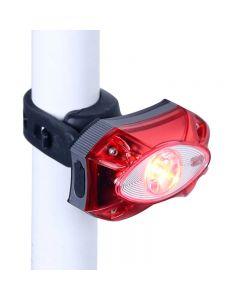 RAYPAL 3W USB Luz trasera recargable para bicicleta Luz LED impermeable para bicicleta Accesorios para bicicleta