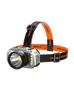 Linterna frontal LED Luz fuerte Super brillante Linterna de pesca nocturna recargable de largo alcance
