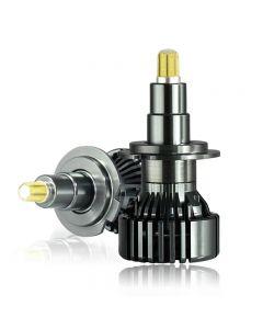 H1 H7 H11 LED 90W / par lente de proyector faro de coche H8 H9 9012 HIR2 9005 9006 HB3 HB4