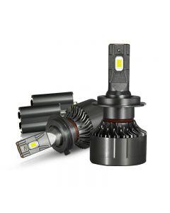 Alta potencia 130W 30000Lm H7 H11 Canbus Coche LED Faros delanteros H4 9005 9006 Lámpara principal H1 Turbo Ventilador 6000K Bombilla