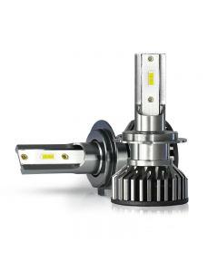 2 piezas Mini CSP H4 H7 LED bombilla de faro de coche 20000LM 3000K 4300K 6000K 8000K Turbo lámparas