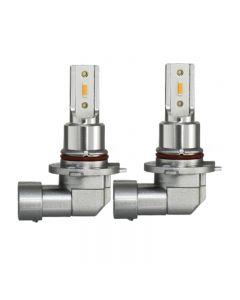 2 uds H11 H8 LED Bombillas de luz antiniebla para coche H9 H16 9005 9006 2400Lm 6000K Blanco 1900K Ámbar 8000K Azul Auto DRL Luz antiniebla