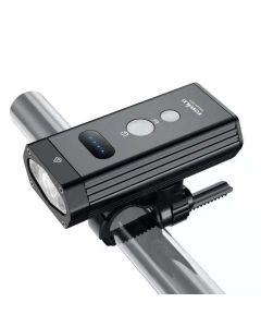 TOWILD BR1200 Luz de bicicleta incorporada 4000mAh IPX6 Luz de bicicleta recargable USB impermeable