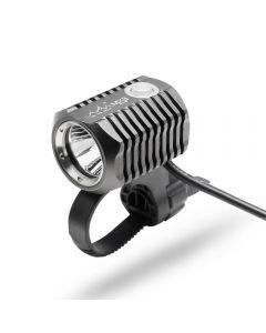 ON THE ROAD MX3-BL Juego de luces delanteras recargables para bicicleta Lámpara LED para bicicleta Soporte USB 18650 Batería