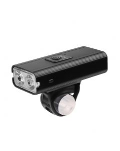 2 * T6 LED Luz de bicicleta USB recargable 800 Lumen 6 modos Impermeable Ciclismo Lámpara frontal Faro