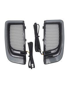 Luz de parrillas inferiores de carenado LED para motocicleta para Harley Touring 14-19 CVO Street Glide Electra Road