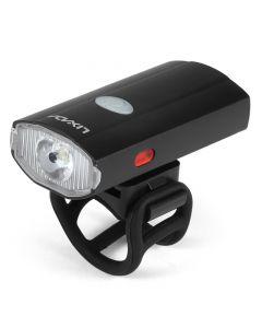 USB recargable para casco de ciclismo, faro impermeable para bicicleta, luz trasera, lámpara, linterna