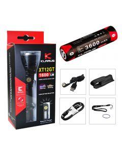 Klarus Xt12Gt Tac Alcance Extendido Flashlight Cree Xph35 Hi Led Torch (Incluye Batería 18650)